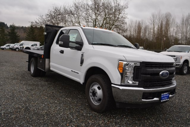 2017 F-350 Super Cab DRW 4x2,  Harbor Platform Body #E6981 - photo 5