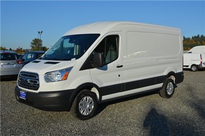 2018 Transit 250 Med Roof 4x2,  Empty Cargo Van #E6982 - photo 1