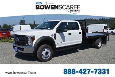2018 F-450 Crew Cab DRW 4x2,  Platform Body #E7751 - photo 1
