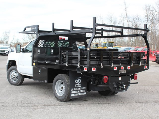 2017 Silverado 3500 Regular Cab DRW 4x4,  Knapheide Contractor Body #17C128T - photo 6