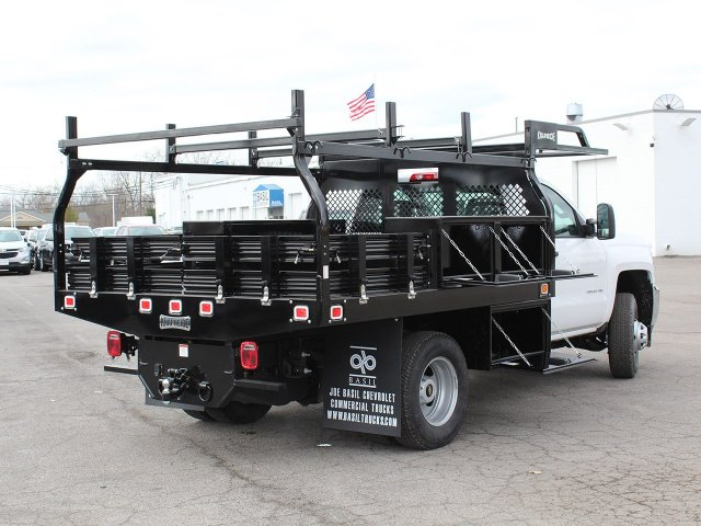 2017 Silverado 3500 Regular Cab DRW 4x4,  Knapheide Contractor Body #17C128T - photo 15