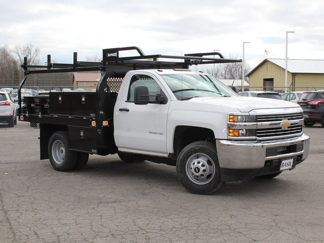 2017 Silverado 3500 Regular Cab DRW 4x4,  Knapheide Contractor Body #17C128T - photo 34