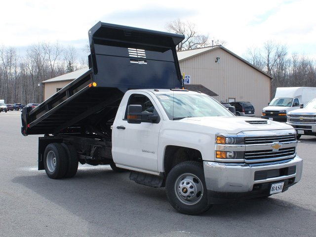 2018 Silverado 3500 Regular Cab DRW 4x4,  Air-Flo Dump Body #18C114T - photo 10