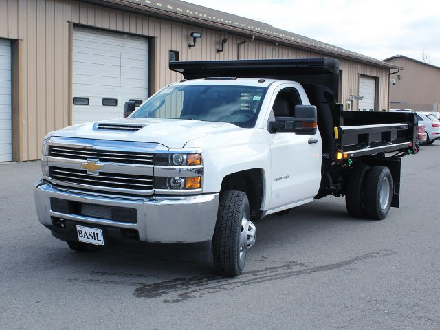 2018 Silverado 3500 Regular Cab DRW 4x4,  Air-Flo Dump Body #18C114T - photo 14