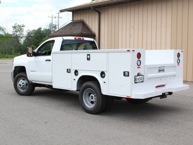 2018 Silverado 3500 Regular Cab DRW 4x4,  Knapheide Service Body #18C120T - photo 8
