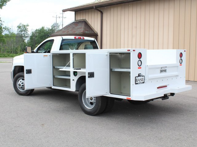 2018 Silverado 3500 Regular Cab DRW 4x4,  Knapheide Service Body #18C120T - photo 13