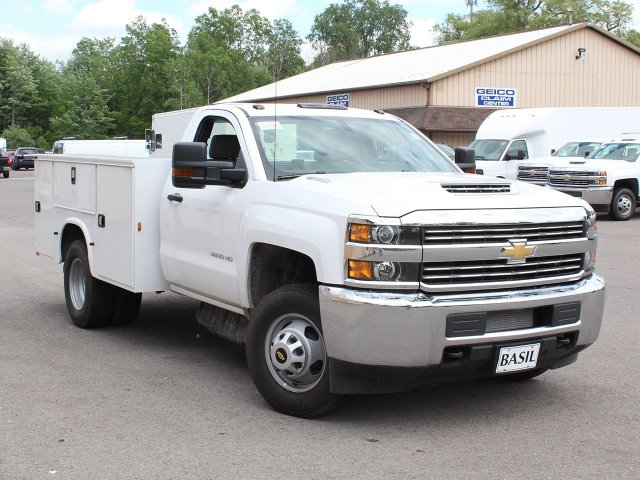 2018 Silverado 3500 Regular Cab DRW 4x4,  Knapheide Service Body #18C120T - photo 17