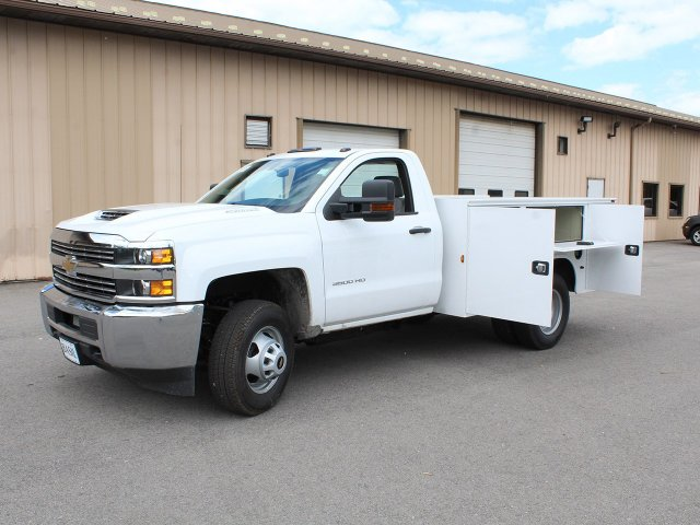 2018 Silverado 3500 Regular Cab DRW 4x4,  Knapheide Service Body #18C120T - photo 18