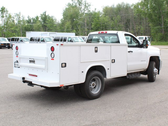 2018 Silverado 3500 Regular Cab DRW 4x4,  Knapheide Service Body #18C120T - photo 2