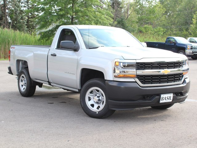 2018 Silverado 1500 Regular Cab 4x4,  Pickup #18C165TD - photo 10