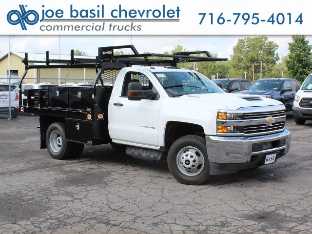 2018 Silverado 3500 Regular Cab DRW 4x4,  Knapheide Contractor Body #18C169T - photo 1