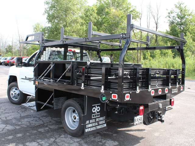 2018 Silverado 3500 Regular Cab DRW 4x4,  Knapheide Contractor Body #18C169T - photo 14