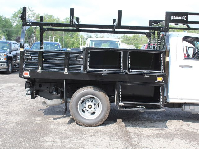 2018 Silverado 3500 Regular Cab DRW 4x4,  Knapheide Contractor Body #18C169T - photo 19