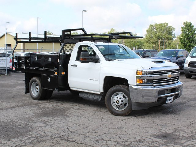 2018 Silverado 3500 Regular Cab DRW 4x4,  Knapheide Contractor Body #18C169T - photo 39