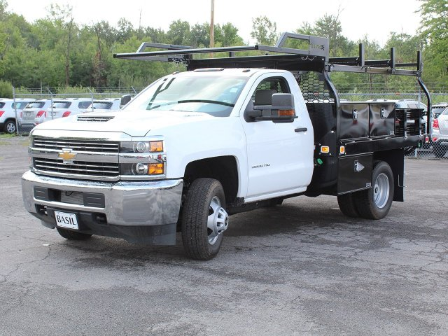 2018 Silverado 3500 Regular Cab DRW 4x4,  Knapheide Contractor Body #18C169T - photo 9