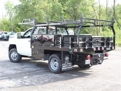 2018 Silverado 3500 Regular Cab DRW 4x4,  Knapheide Contractor Body #18C169T - photo 8