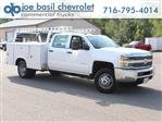 2018 Silverado 3500 Crew Cab DRW 4x4,  Reading Service Body #18C171T - photo 1