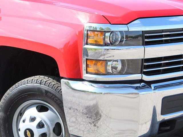 2018 Silverado 3500 Crew Cab DRW 4x4,  Reading Service Body #18C172T - photo 12
