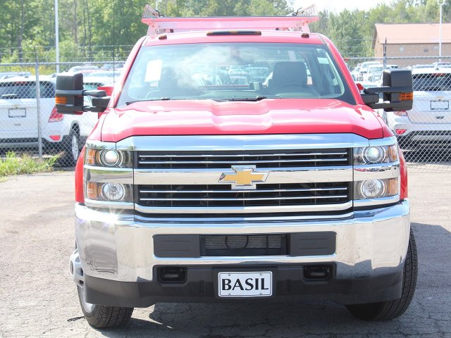 2018 Silverado 3500 Crew Cab DRW 4x4,  Reading Service Body #18C172T - photo 5