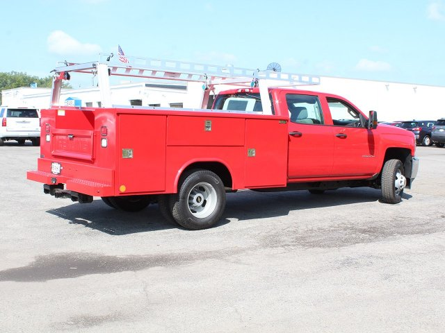 2018 Silverado 3500 Crew Cab DRW 4x4,  Reading Service Body #18C172T - photo 2