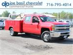 2018 Silverado 3500 Crew Cab DRW 4x4,  Reading Service Body #18C172T - photo 1