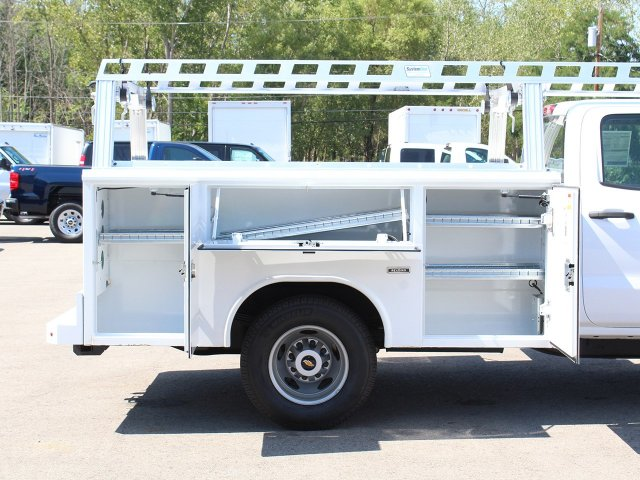 2018 Silverado 3500 Crew Cab DRW 4x4,  Reading Service Body #18C173T - photo 18