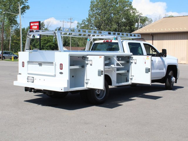 2018 Silverado 3500 Crew Cab DRW 4x4,  Reading Service Body #18C173T - photo 19