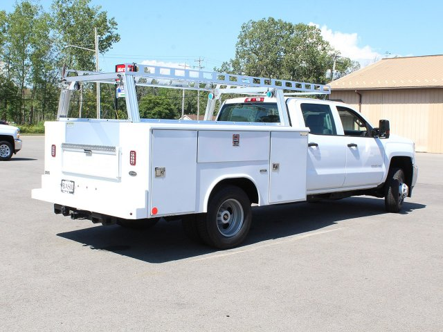 2018 Silverado 3500 Crew Cab DRW 4x4,  Reading Service Body #18C173T - photo 2