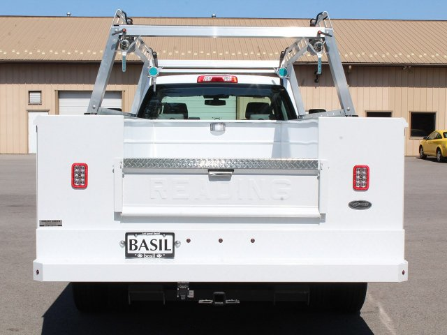 2018 Silverado 3500 Crew Cab DRW 4x4,  Reading Service Body #18C173T - photo 6
