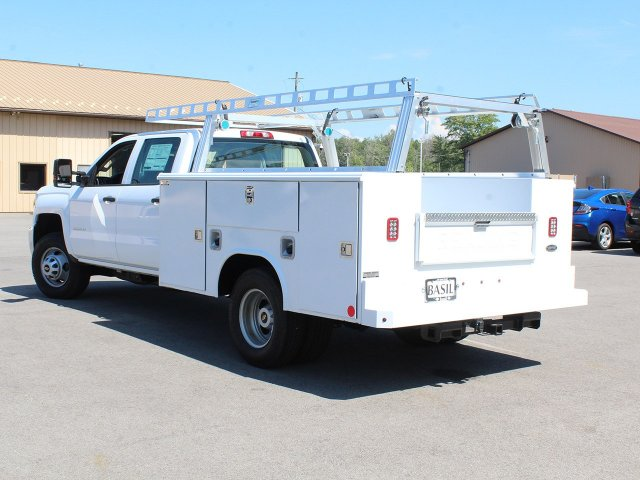 2018 Silverado 3500 Crew Cab DRW 4x4,  Reading Service Body #18C173T - photo 8