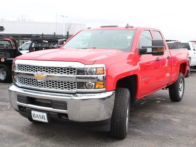 2019 Silverado 2500 Double Cab 4x4,  Pickup #19C104T - photo 9