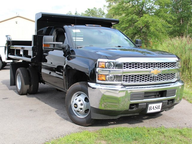 2019 Silverado 3500 Regular Cab DRW 4x4,  Air-Flo Dump Body #19C10T - photo 10