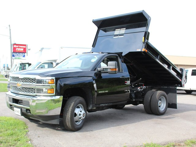 2019 Silverado 3500 Regular Cab DRW 4x4,  Air-Flo Dump Body #19C10T - photo 14