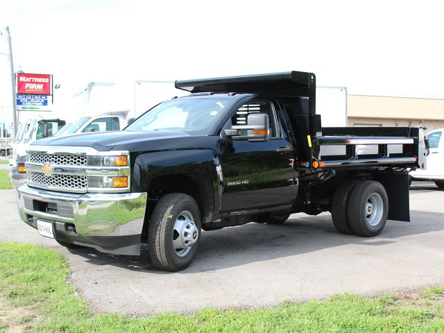 2019 Silverado 3500 Regular Cab DRW 4x4,  Air-Flo Dump Body #19C10T - photo 3