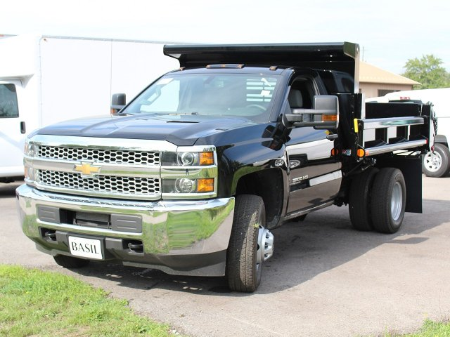 2019 Silverado 3500 Regular Cab DRW 4x4,  Air-Flo Dump Body #19C10T - photo 9