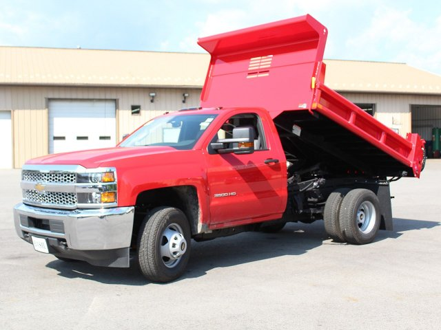 2019 Silverado 3500 Regular Cab DRW 4x4,  Air-Flo Dump Body #19C12T - photo 14