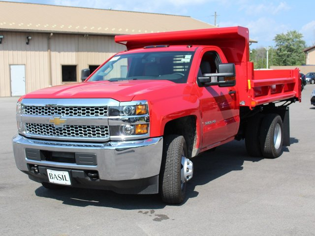 2019 Silverado 3500 Regular Cab DRW 4x4,  Air-Flo Dump Body #19C12T - photo 3