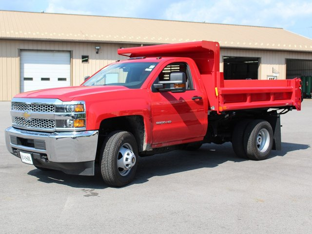 2019 Silverado 3500 Regular Cab DRW 4x4,  Air-Flo Dump Body #19C12T - photo 27