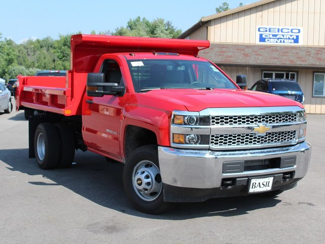 2019 Silverado 3500 Regular Cab DRW 4x4,  Air-Flo Dump Body #19C12T - photo 9