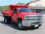 2019 Silverado 3500 Regular Cab DRW 4x4,  Air-Flo Pro-Class Dump Body #19C12T - photo 9