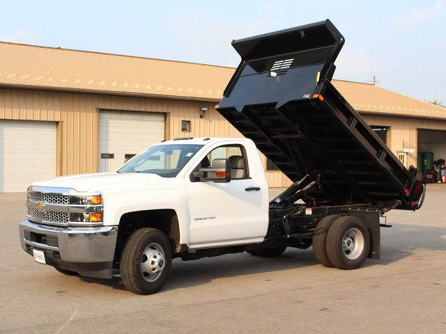 2019 Silverado 3500 Regular Cab DRW 4x4,  Air-Flo Dump Body #19C27T - photo 14