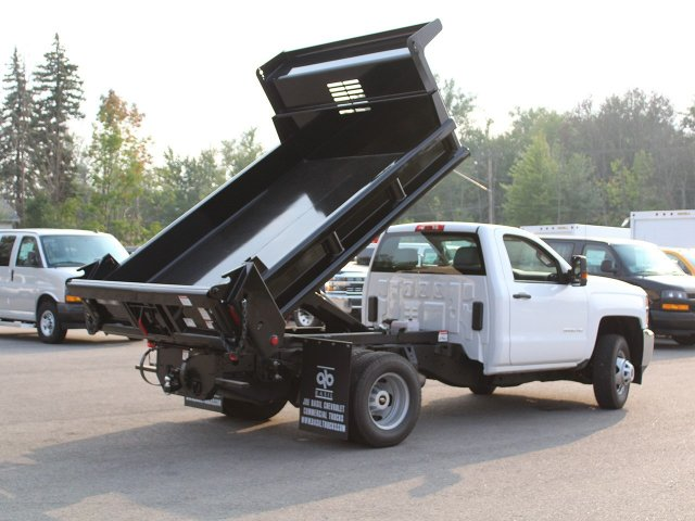 2019 Silverado 3500 Regular Cab DRW 4x4,  Air-Flo Dump Body #19C27T - photo 15