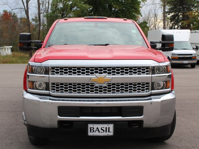 2019 Silverado 3500 Crew Cab DRW 4x4,  Reading Service Body #19C28T - photo 5