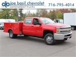 2019 Silverado 3500 Crew Cab DRW 4x4,  Reading Service Body #19C28T - photo 1