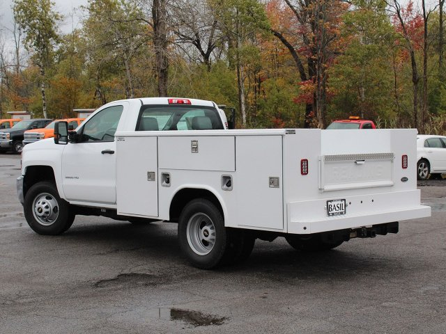 2019 Silverado 3500 Regular Cab DRW 4x4,  Reading Service Body #19C34T - photo 10