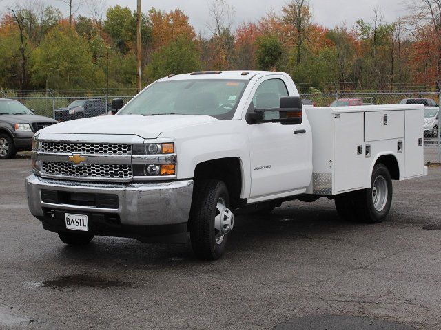 2019 Silverado 3500 Regular Cab DRW 4x4,  Reading Service Body #19C34T - photo 13