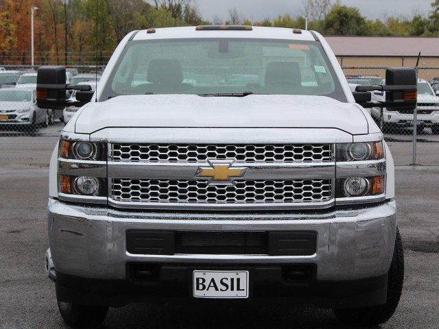 2019 Silverado 3500 Regular Cab DRW 4x4,  Reading Service Body #19C34T - photo 5