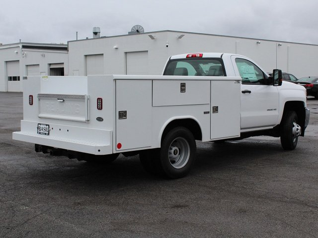 2019 Silverado 3500 Regular Cab DRW 4x4,  Reading Service Body #19C34T - photo 2