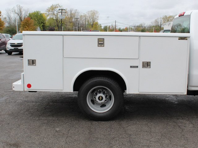 2019 Silverado 3500 Regular Cab DRW 4x4,  Reading Service Body #19C34T - photo 8