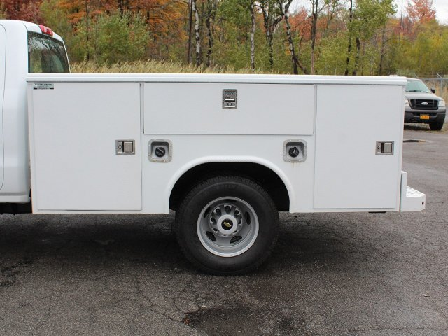 2019 Silverado 3500 Regular Cab DRW 4x4,  Reading Service Body #19C34T - photo 9